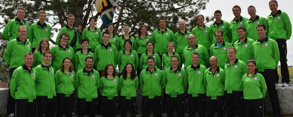 Gruppenbild Turnverein Oeschgen